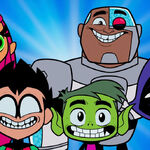 Teen Titans Go to the Movies Trailer Hollywoodedge, Egg Timer Bell DingsL PE193601.jpg
