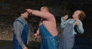 Three Stooges 2012 THREE STOOGES STRING PLUCK SOUND 2