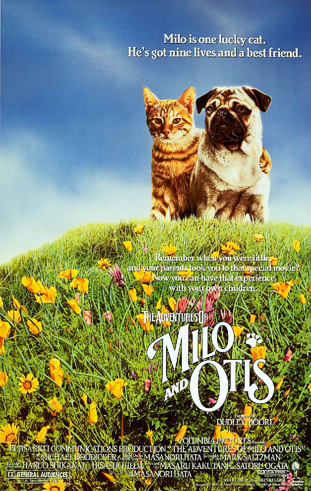 The Adventures of Milo and Otis (1989)
