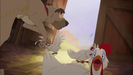The Fox and the Hound 2 (2006) Hollywoodedge, Cattle Cow Moo Bellow AT041501 & Sound Ideas, CARTOON, CHICKEN - LOUD SINGLE SQUAWK (high pitched, short)