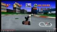 Mickey's Speedway USA N64 H-B CARTOON - ZING IN AND CRASH