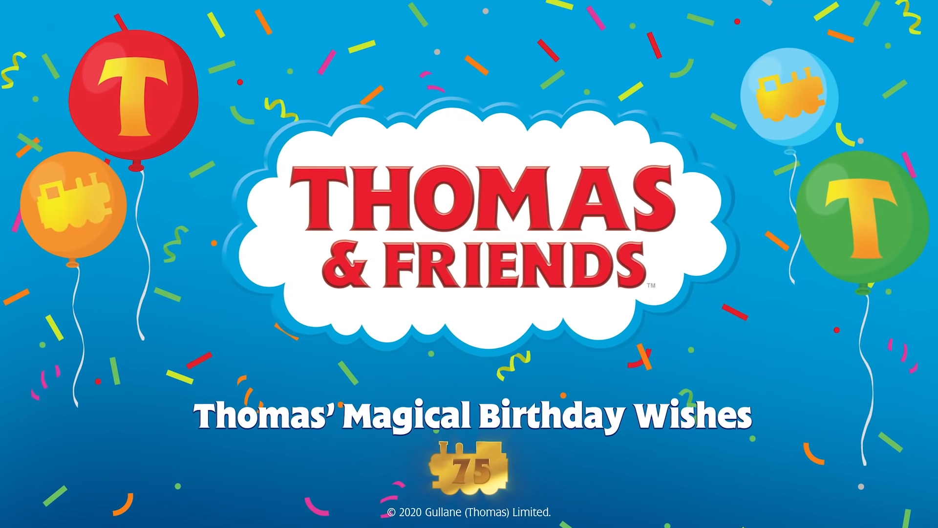 Thomas' Magical Birthday Wishes