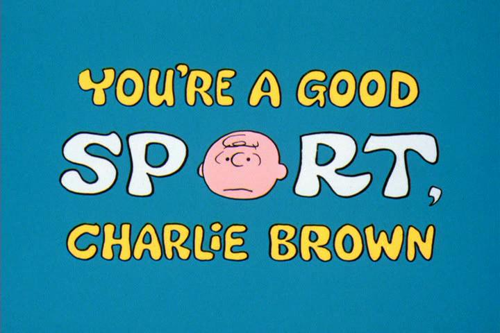 You're a Good Sport, Charlie Brown (1975)