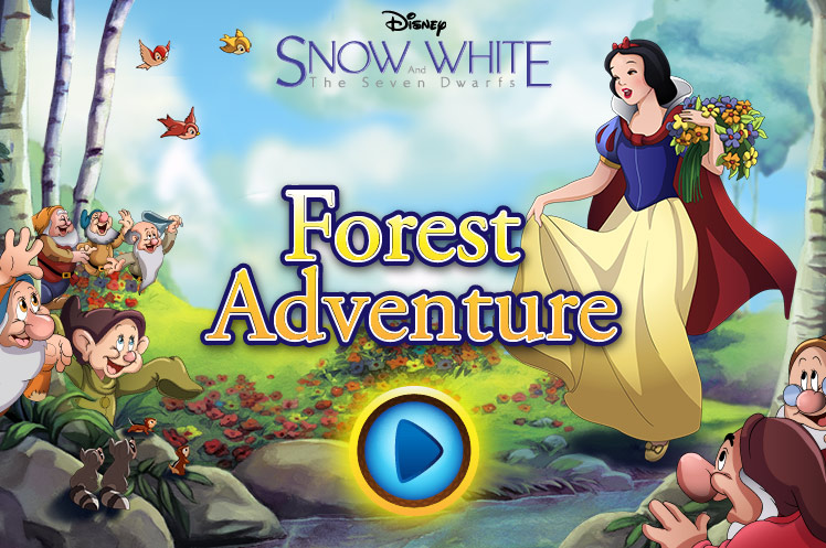 Snow White and the Seven Dwarfs: Forest Adventure (Online Games)