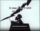 Metlife Commercial (1988) WARNER BROS. THUNDER 01
