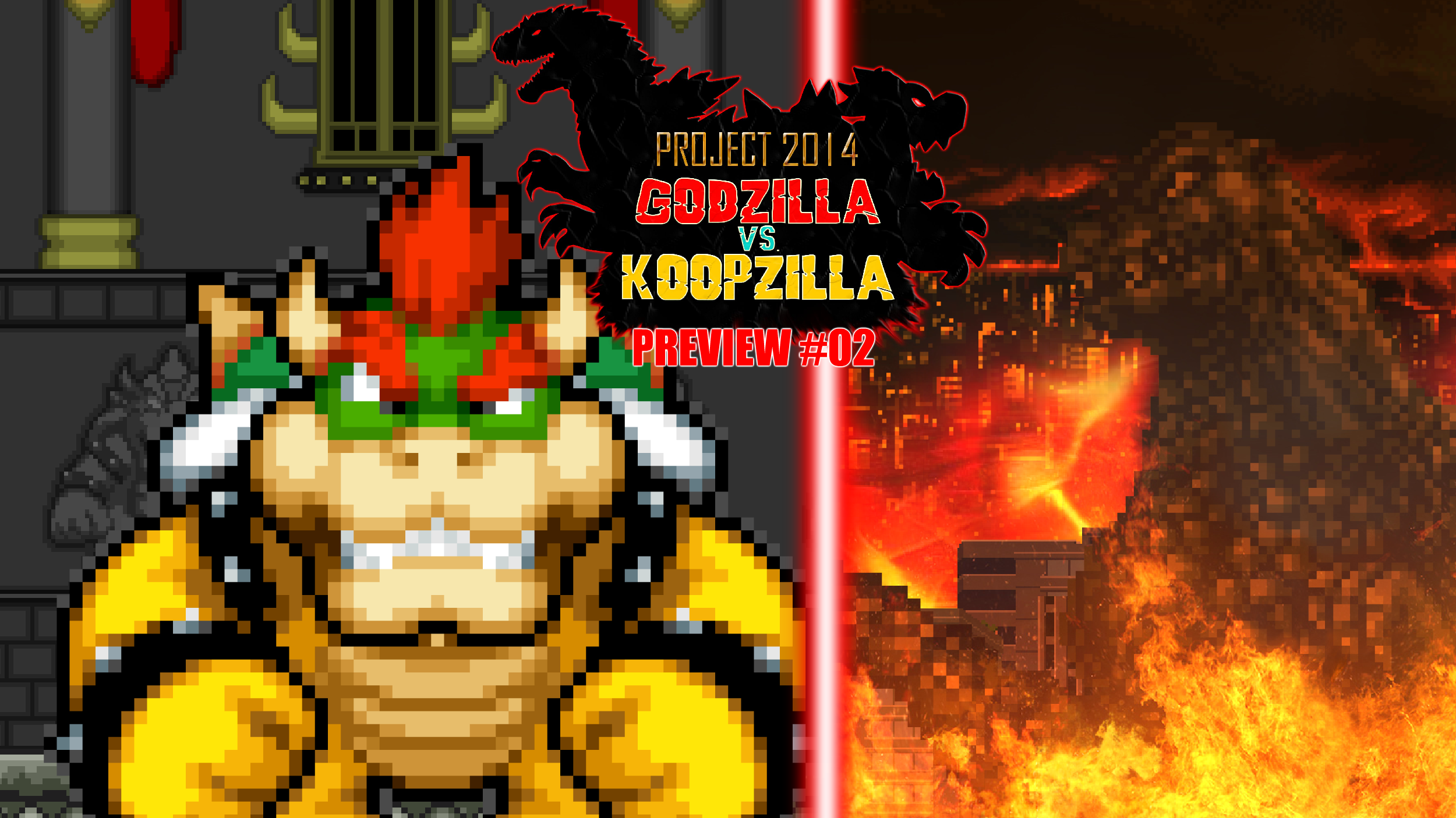 Project 2014 Godzilla vs Koopzilla (2014)