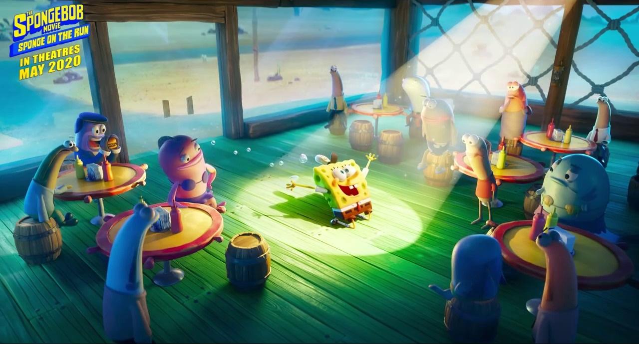 The SpongeBob Movie: Sponge on the Run (2020) (Trailers)