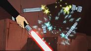 Star Wars Clone Wars Chapter 7 SKYWALKER, ELECTRICITY - SINGLE SPARK CHIRP 01