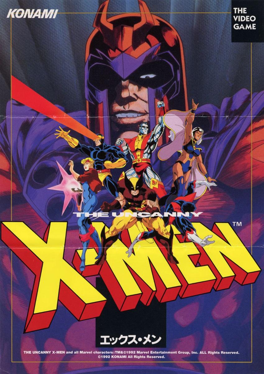 X-Men Arcade Game