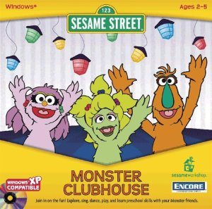 Sesame Street: Monster Clubhouse (2002) (PC Game)