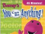 Barney - You Can Be Anything (2002 video)