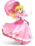 Super Smash Bros Ultimate - Princess Peach Character Portrait