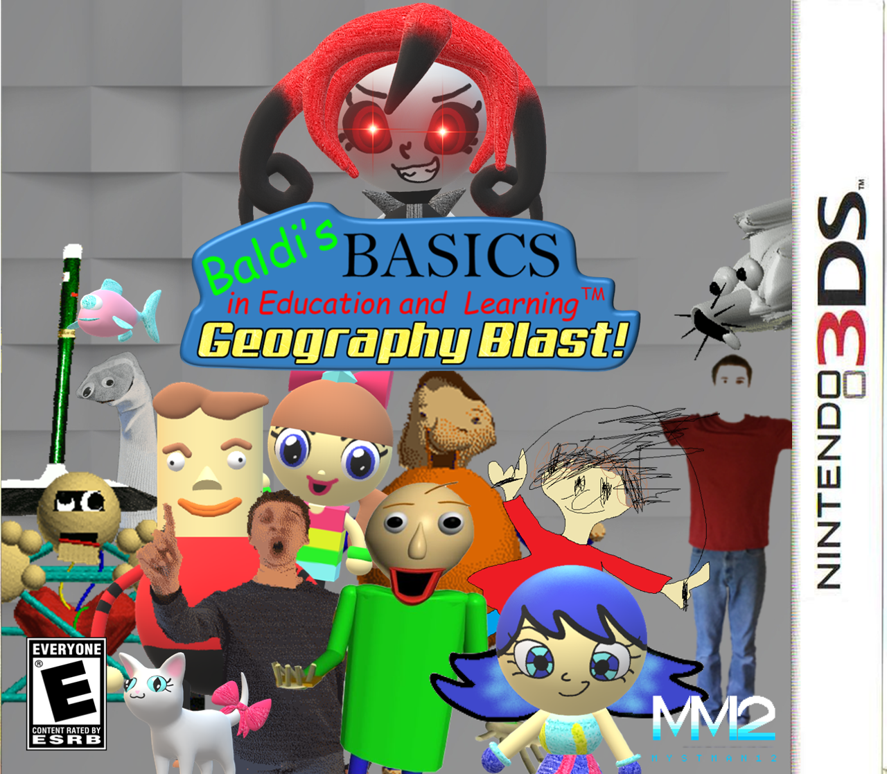 Baldi's Basics in Education and Learning: Geography Blast!