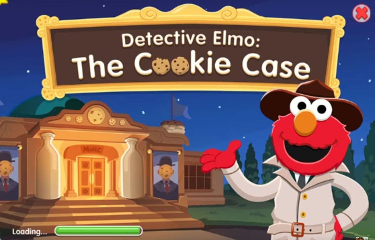 Sesame Street - Detective Elmo: The Cookie Case (Online Game)