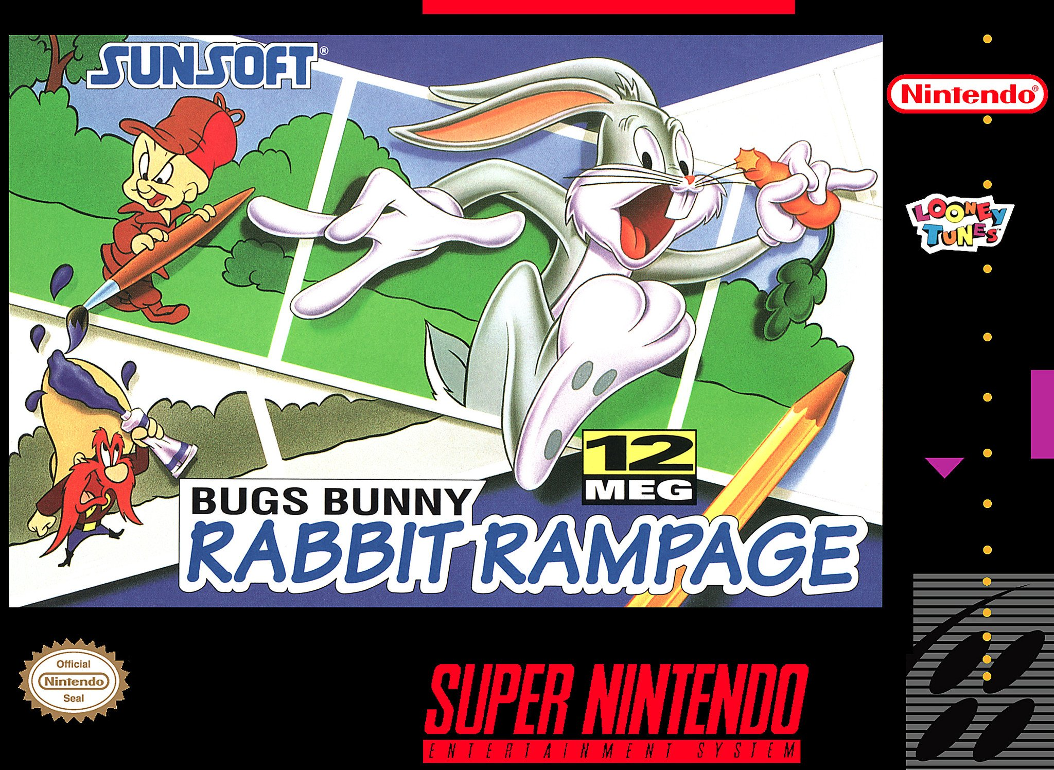 Bugs Bunny: Rabbit Rampage (SNES)