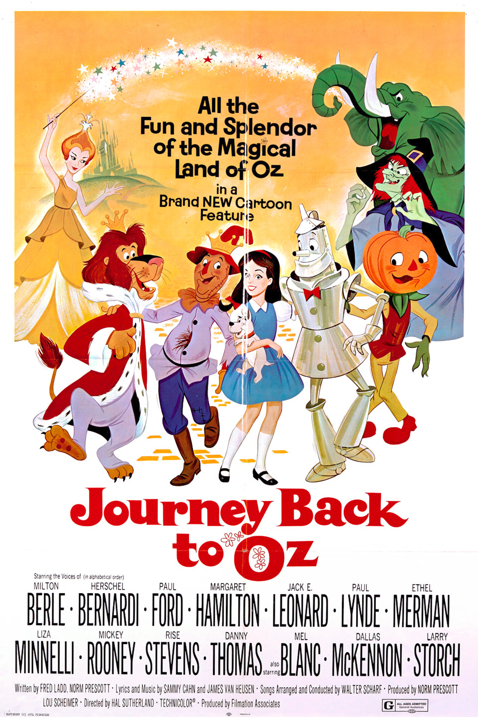 Journey Back to Oz (1972)