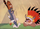Tom and Jerry Two Little Indians Tom Scream