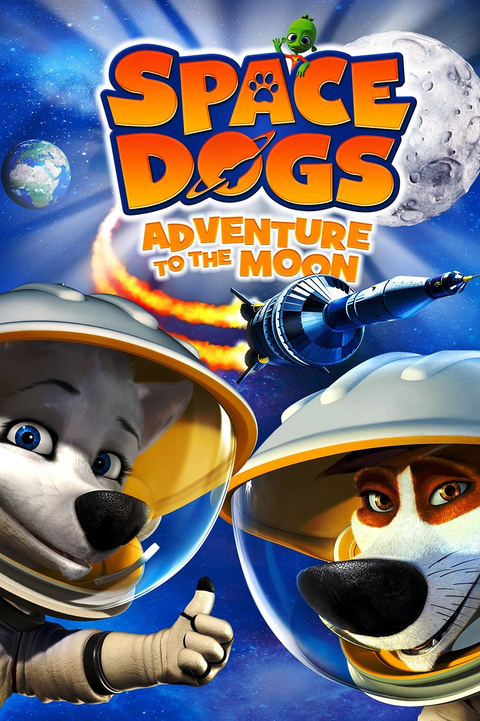 Space Dogs: Adventure to the Moon (2010)