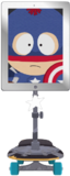 Alter-ego-halloween-costumes-captain-america-on-facetime
