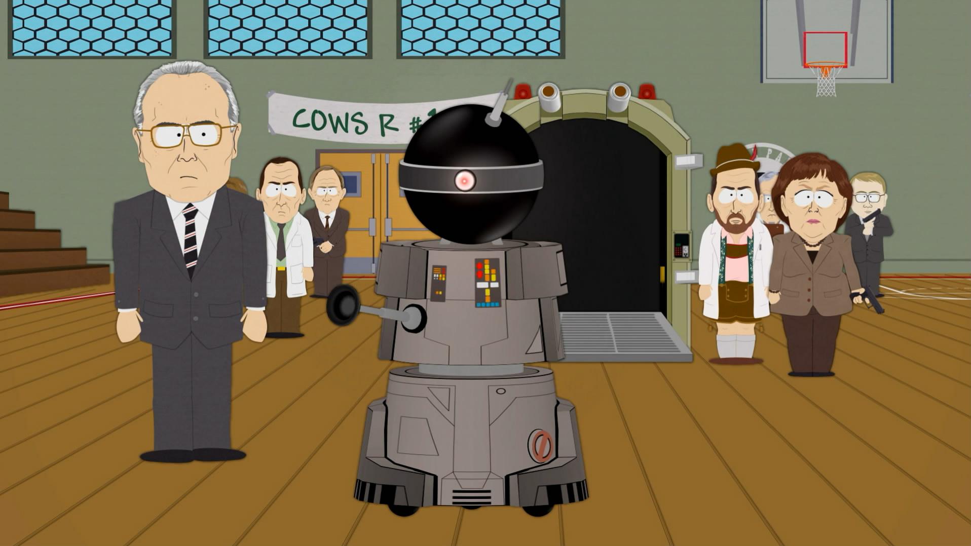 搞笑机器人