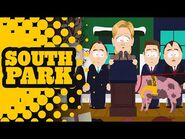 Bomb-Sniffing Pig Finding a Bomb on Hillary Clinton - SOUTH PARK