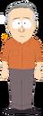 Man with Orange Shirt