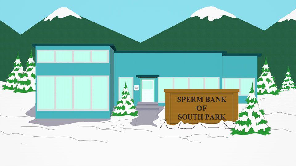南方公园精子银行