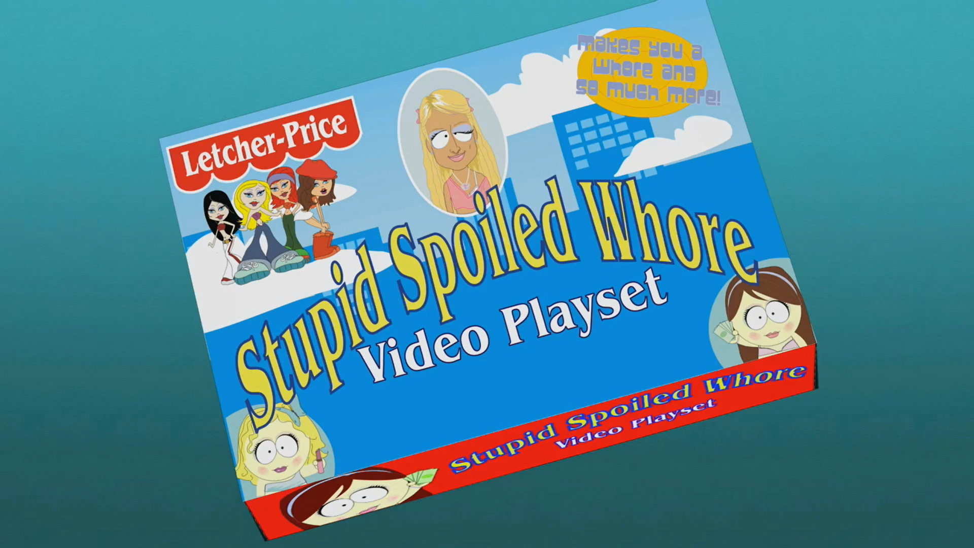 Stupid Spoiled Whore Video Playset (object)