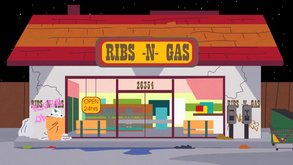 排骨汽油便利店