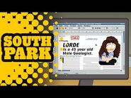 Lorde's New Hit - SOUTH PARK