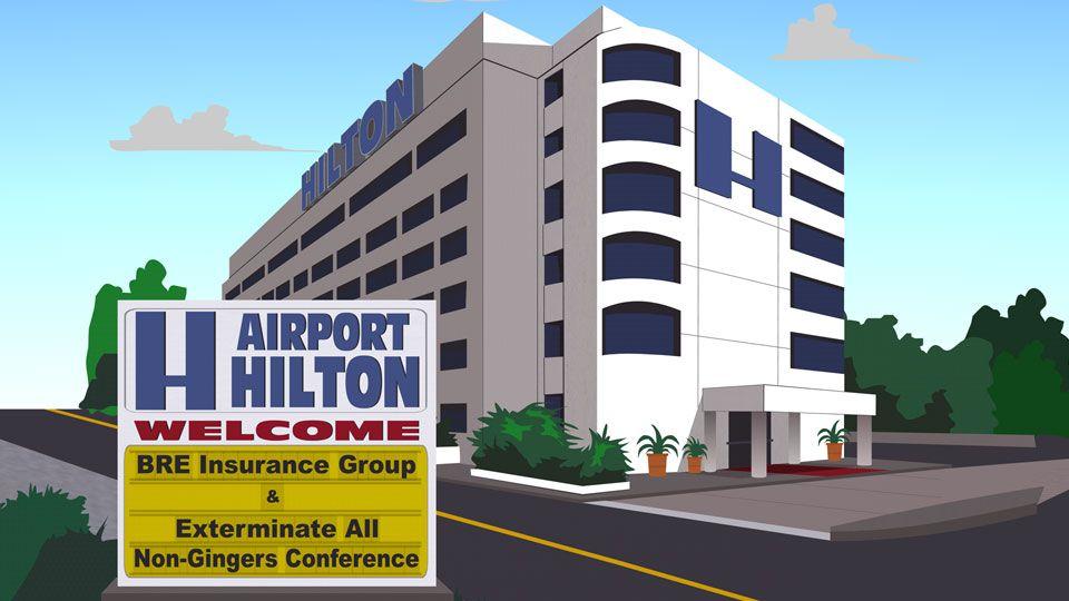 希尔顿机场酒店