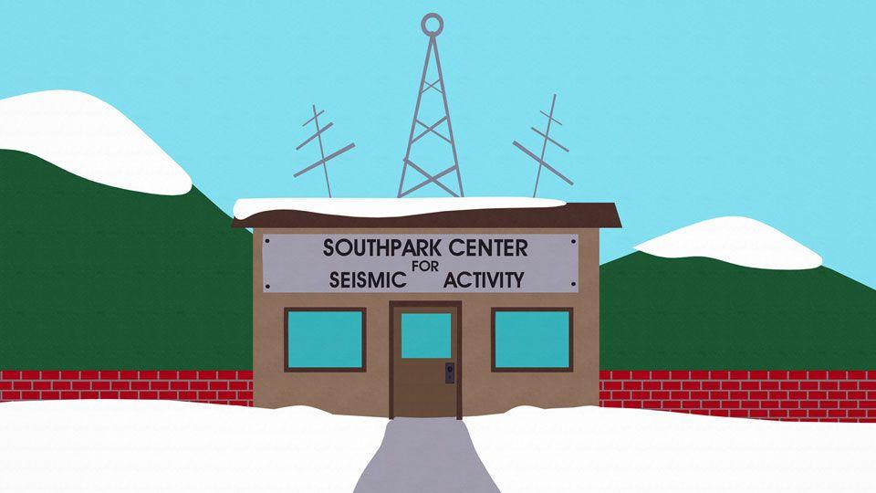 南方公园地震活动监测中心