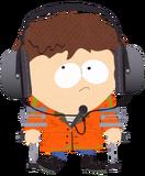 Jimmy-orange-parka