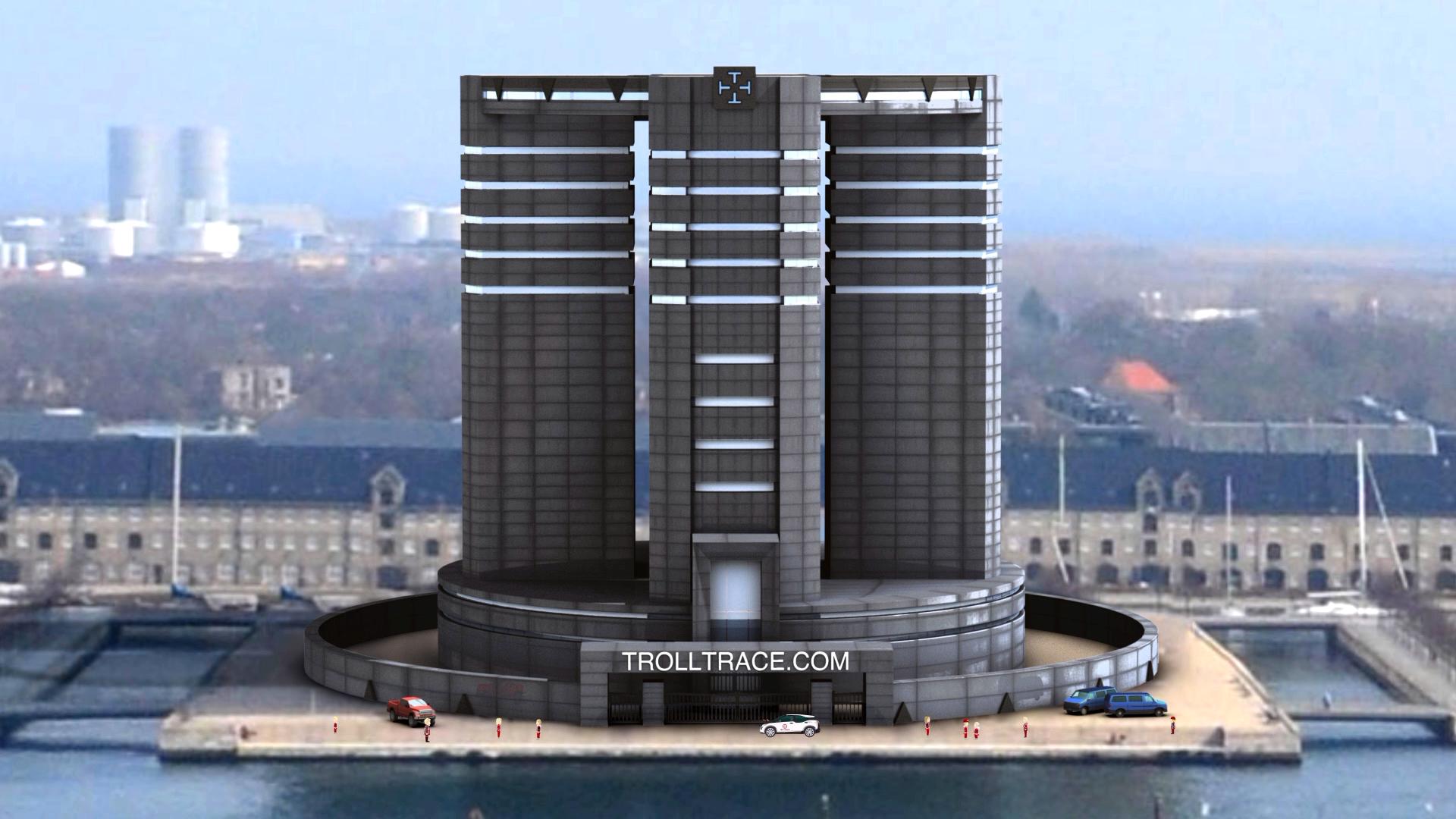喷子追踪网大楼