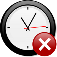 Modern clock chris kemps 01 with Octagon-warning