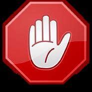 Dialog-stop-hand