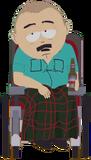 Alcoholic Wheelchair Randy