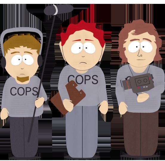 COPS TV Film Crew