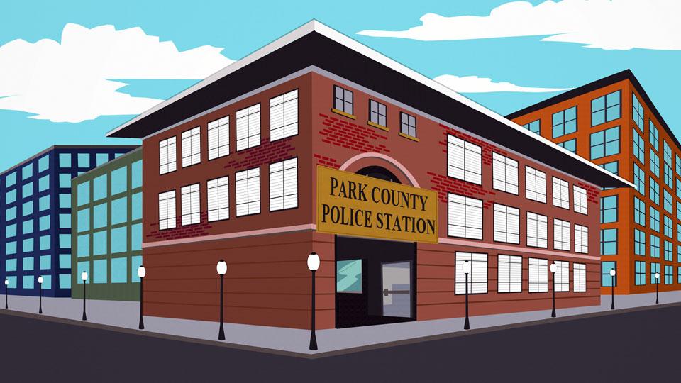 帕克县警署
