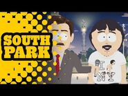 Crapping on the Columbus Statue - SOUTH PARK