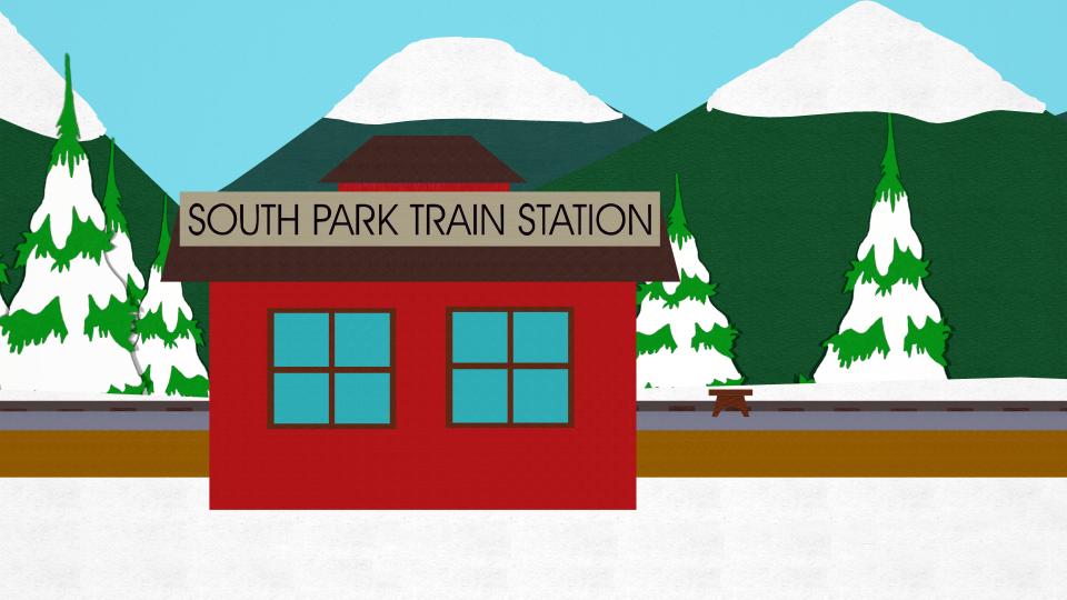 南方公园火车站
