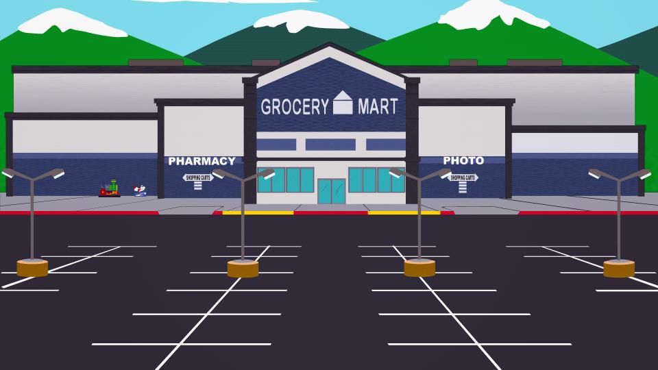 食品杂货超市