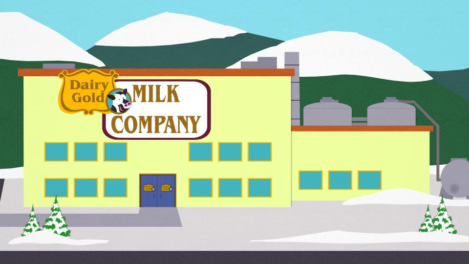 乳黄金牛奶公司