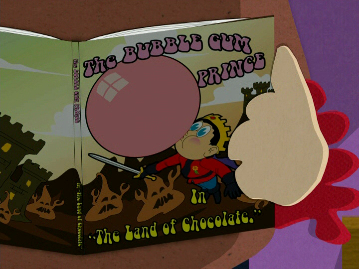 """The Bubble Gum Prince in """"The Land Of Chocolate"""""""