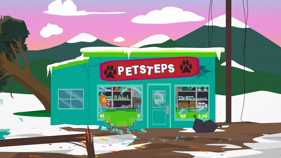 兽脚印宠物商店