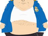 马桶安全局胖警员