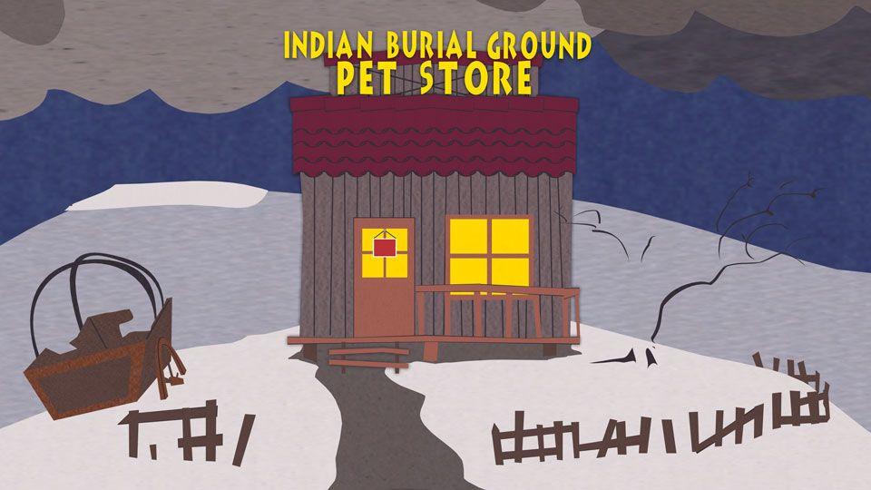 印第安墓地宠物商店