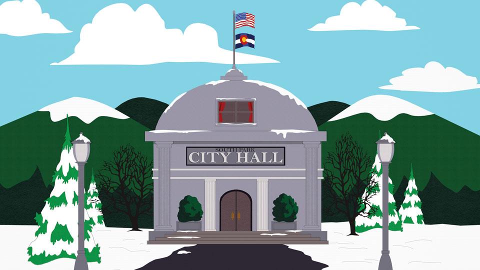 南方公园市政厅