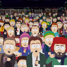 South Park Citizens rooting for Mr. Mackey's song (''christmas Snow'').png