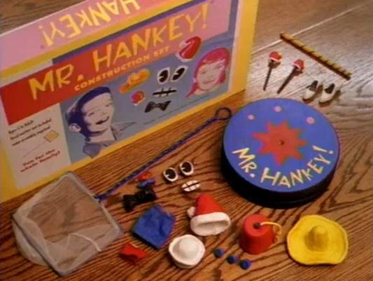 Mr. Hankey Construction Set